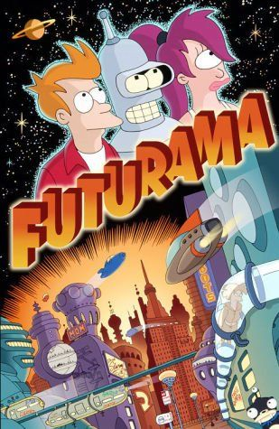 Futurama, one of the funniest (and sometimes saddest-if you've seen Jurassic Bark you know what I mean) shows I have ever seen.