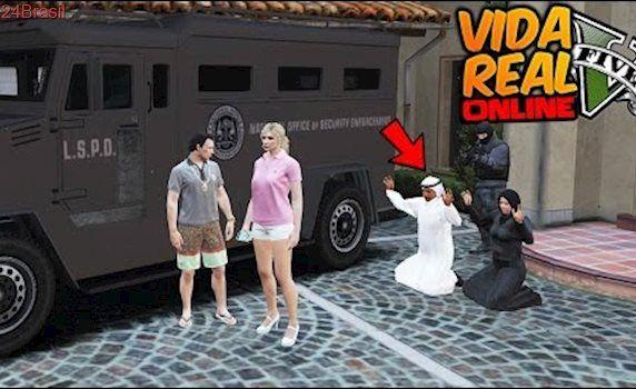 GTA V : VIDA REAL 🔴 Os Árabes Foram PRESOS, Novo Mecânico #254