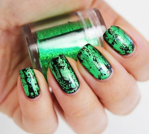 Cool Black And Green Nails - The 25+ Best Lime Green Nails Ideas On Pinterest Pretty Nails