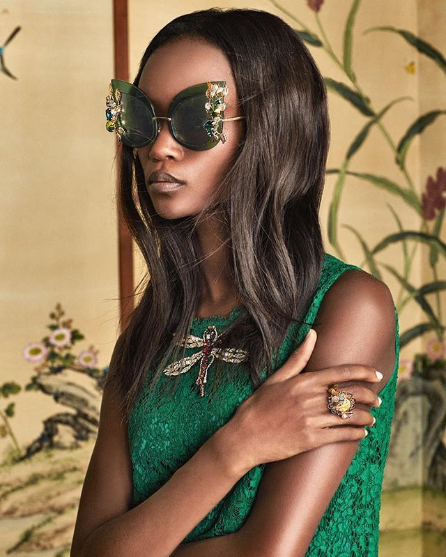 @dolcegabbana Discover the Intricate eyewear which is part of the Botanical Garden Collection. #DGBananaleaf