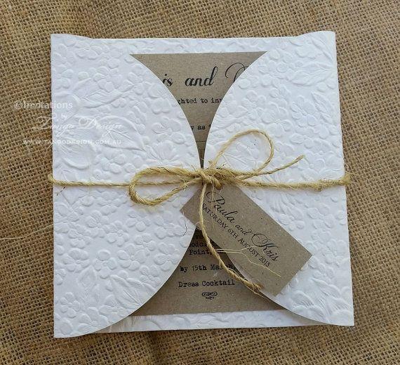 Rustic Wedding Stationery Australia