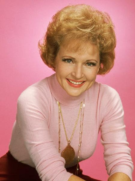 And just because we all love her, not because her hair has reached the required volume, is Betty White.
