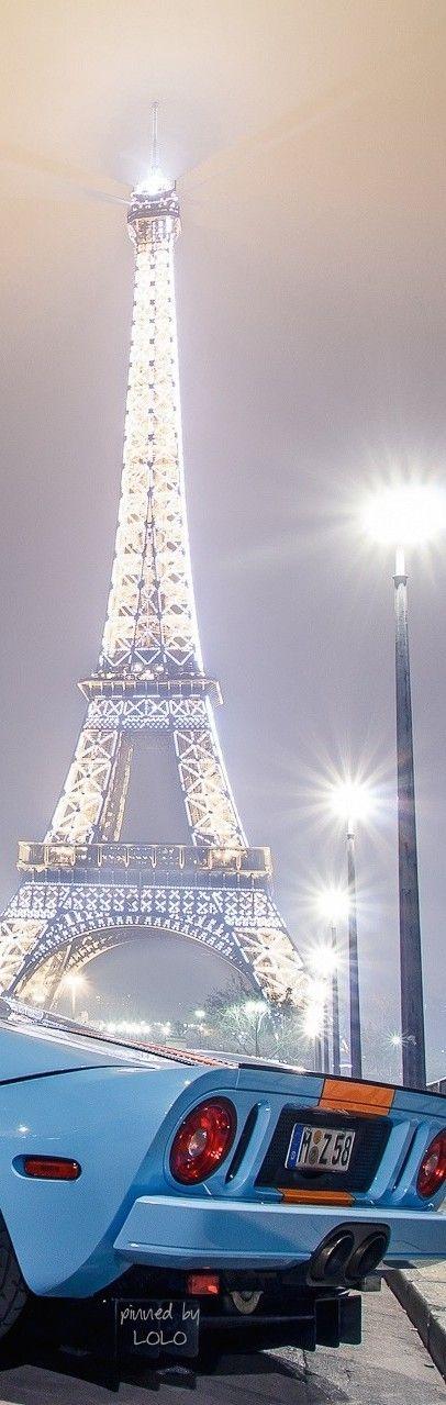 Eiffel Tower Christmas ...Paris - #LadyLuxuryDesigns