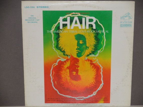 Hair  The Original Broadway Cast Recording  by notesfromtheattic, $12.00