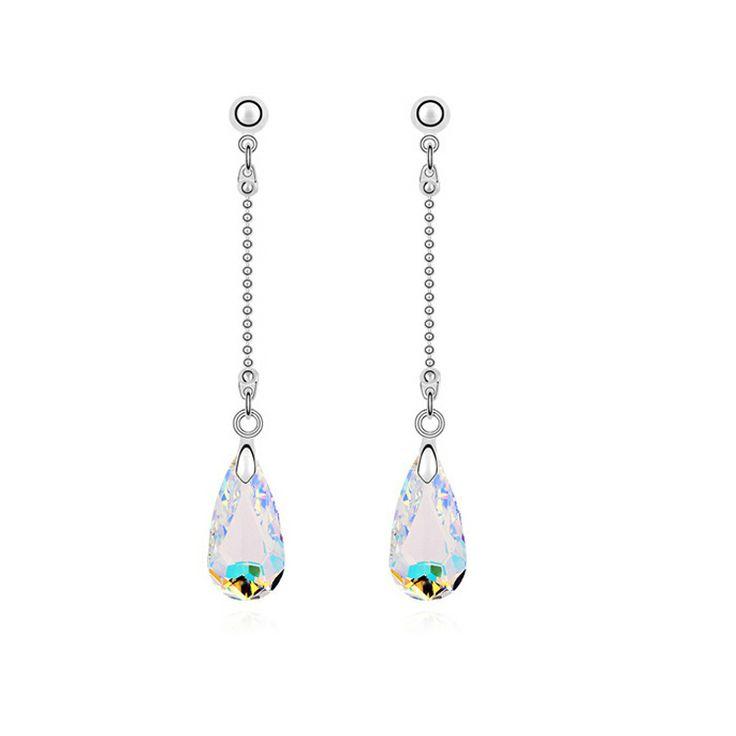 Min.$10 18K gold plated earring austrian crystal rhinstones earings fashion 2013 free shipping $769,11