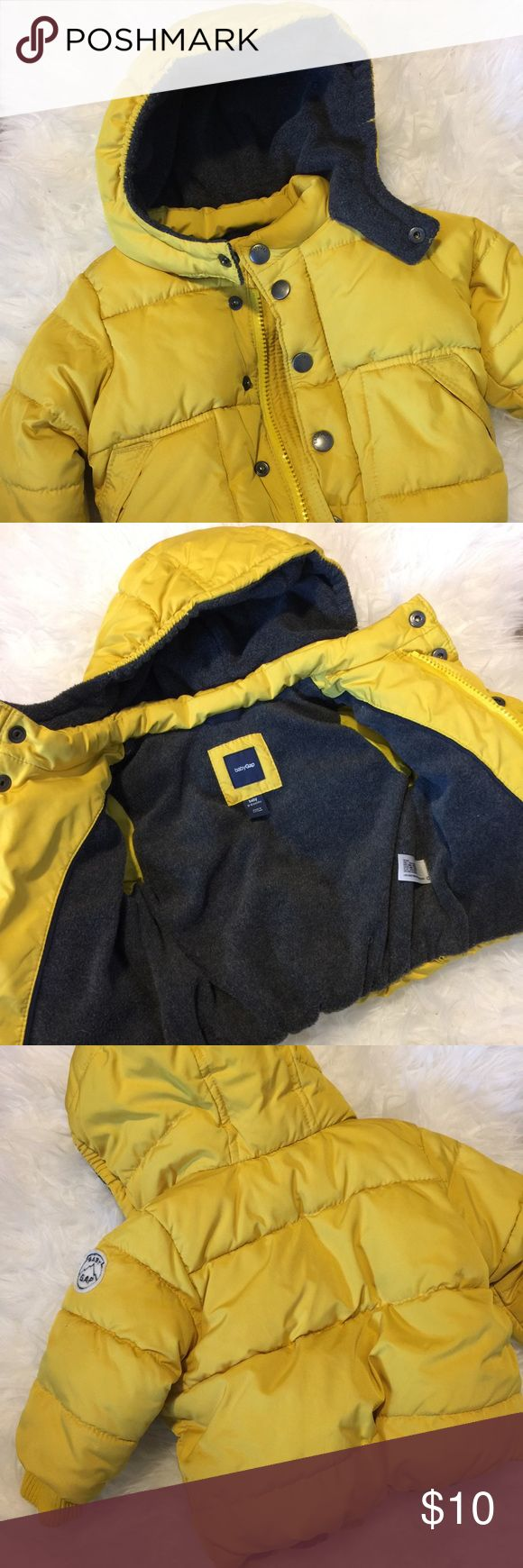 Baby Gap Jacket Size 0-6 months Baby Gap Jacket Size 0-6 months in yellow. GAP Jackets & Coats Puffers