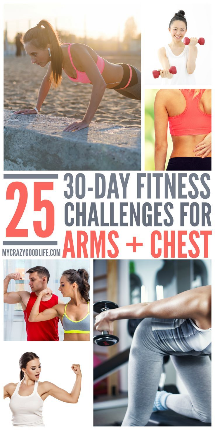 30 Day Chest and Arms Challenge
