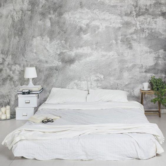 Die besten 25+ Betontapete Ideen auf Pinterest Tapeten beton - tapete f r wohnzimmer