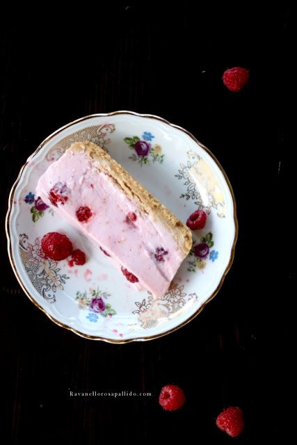 Ravanello Rosa Pallido: Yogurt e Lamponi al cucchiaio - Raspberries no-bake cake