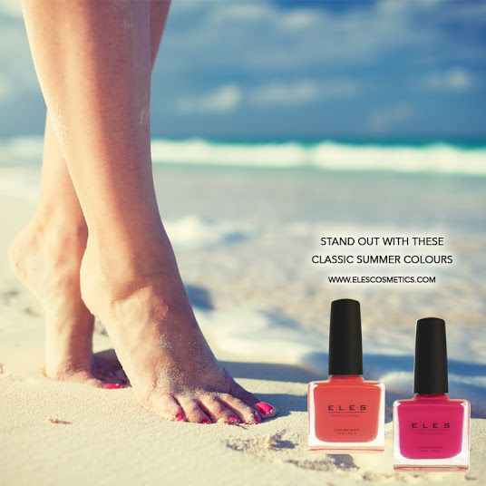 Stand out from the crowd. <3 http://bit.ly/some-like-it-hot  #ELES #summer #nailpolish