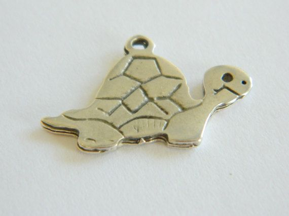 Turtle 10pieces Make fantastic jewell by Loligita on Etsy