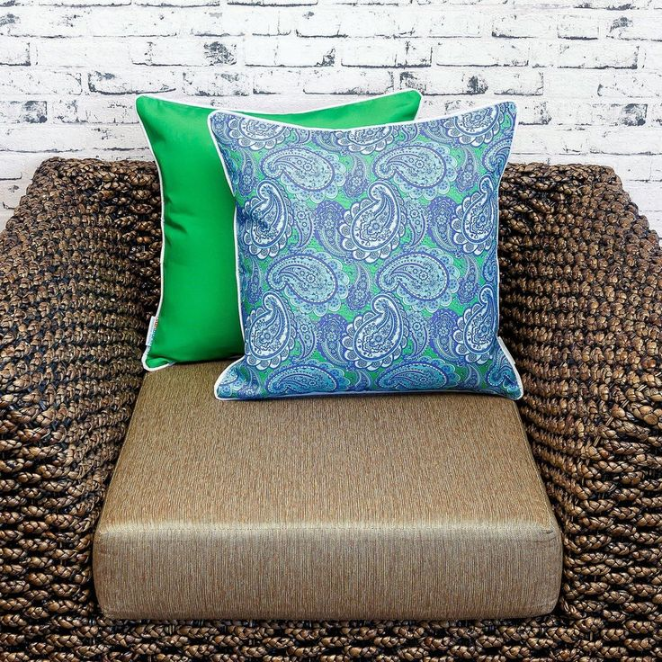 """Rational.  Our flip cushion cover range was designed to cater to customers wanting a plain cover to contrast our patterns. The plain colour is chosen to best compliment the printed pattern. Purchase a single cover for impact or purchase multiple covers and """"Flip"""" them back and front. This cushion cover is part of our """"Flip Range"""" which means this design has been printed in low quantities. If you like this design we recommend purchasing to avoid disappointment. #sunburstoutdoorliving…"""