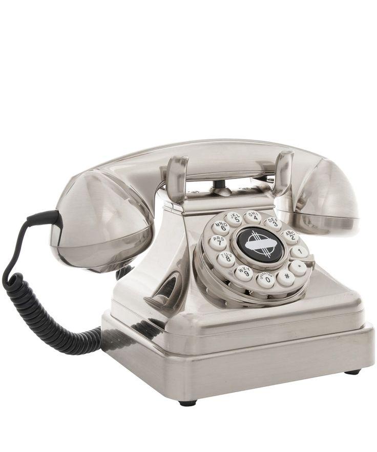 Silver Lobby Desk Phone | Home Decor | Liberty.co.uk