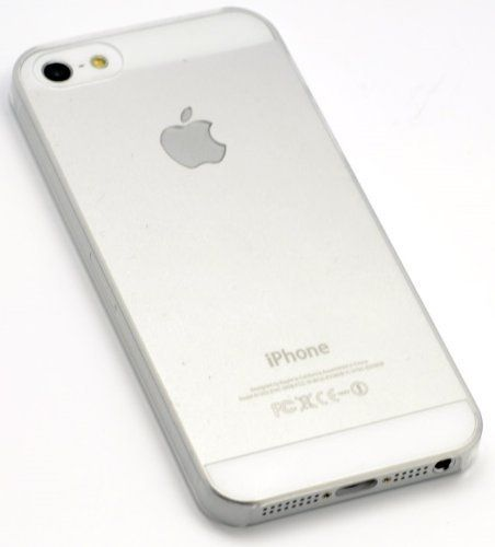 itronik® iPhone 5 5S ORIGINAL Premium Hardcase - Klar / Transparent (iPhone 5 5S Hülle - iPhone 5 5S Schutzhülle - iPhone 5 5S Case)