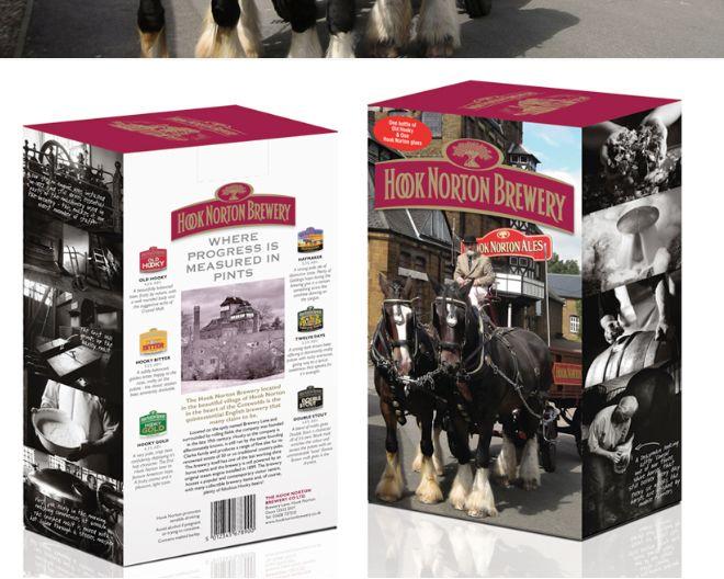 Hook Norton Brewery - Richard Budd Design