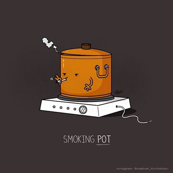 #todayshumour . . . . . . . #joke #jokes #pun #puns #clever #wordplay #playonwords #playwithwords #funny #funnies #todaysfunnies #fun #punctuation #writer #writers #writing #writerslife #grammar #smoking #pot #weed
