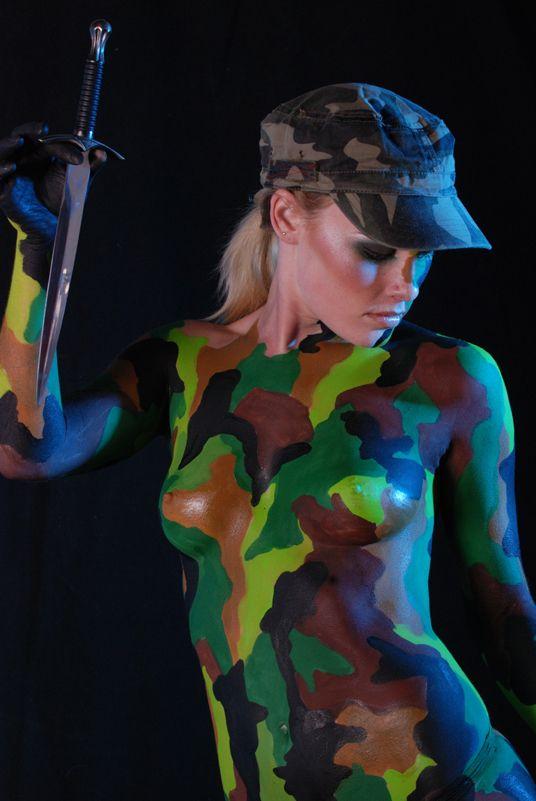 Interracial sex naked camo girl cumshot