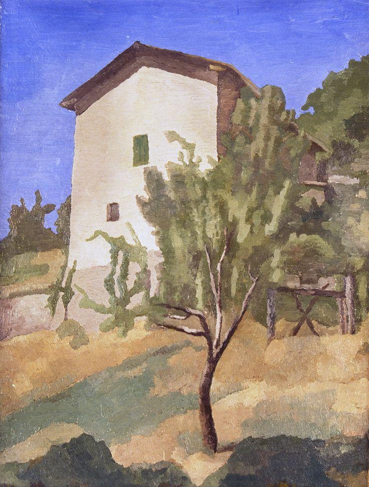 Giorgio Morandi (Italian, 1890-1964), Paesaggio, 1927. Oil on canvas, 61.5 x 47 cm. Camera dei Deputati, Rome.