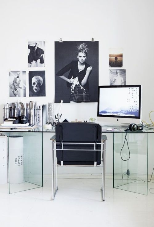 381 best love [where] you work. images on Pinterest   Office inspo, Desk  space and Office spaces