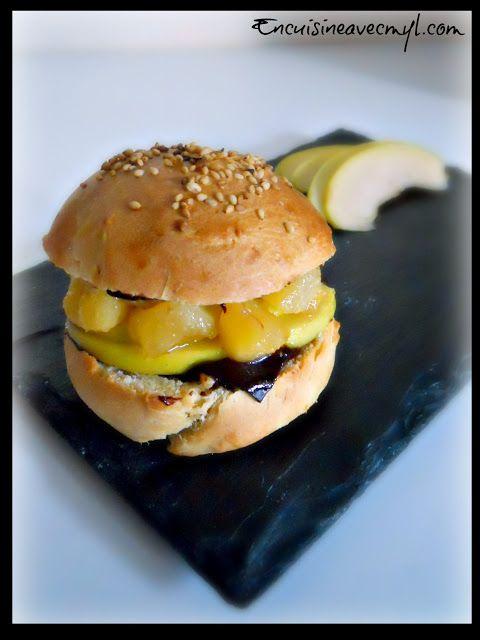 burger pomme