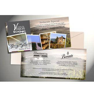 Invitación visita #bodegas #vino