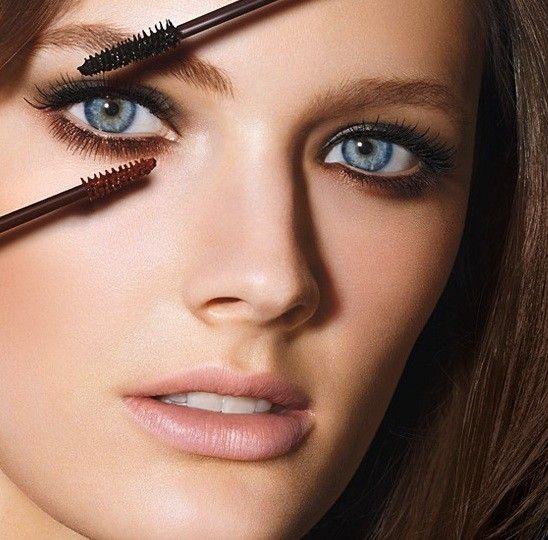 Estee Lauder Sumptuous mascara nero e marroneApplicare il mascara nero o marrone va benissimo anche sui make up da giorno.