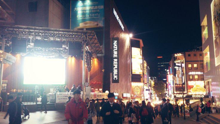 Myeong-dong Night Market - Myeong Dong, Seoul, South Korea