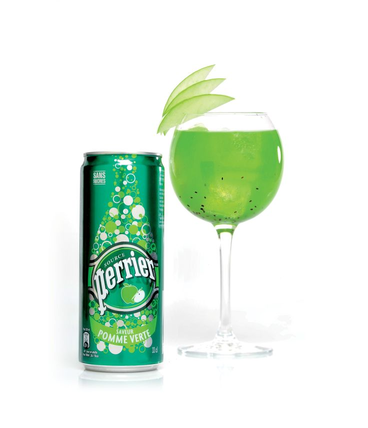 Cocktail Green delight Perrier
