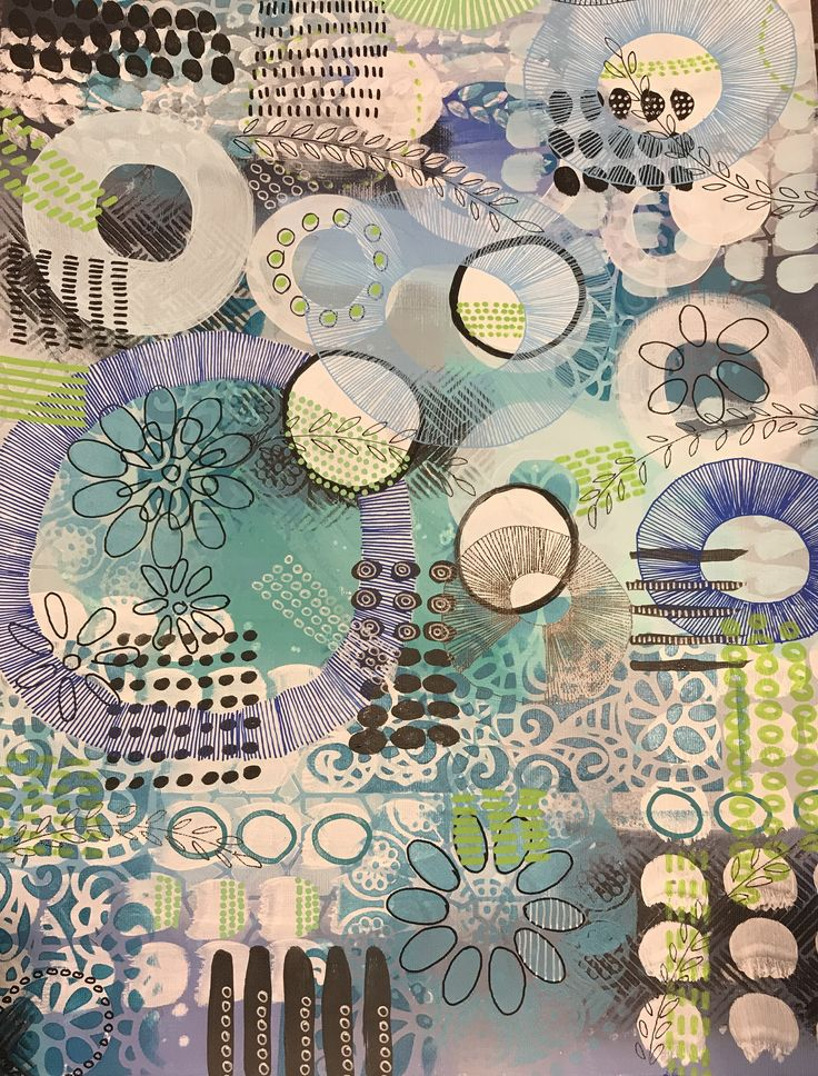 Sylvia Marris, Tone, limited palette, circles