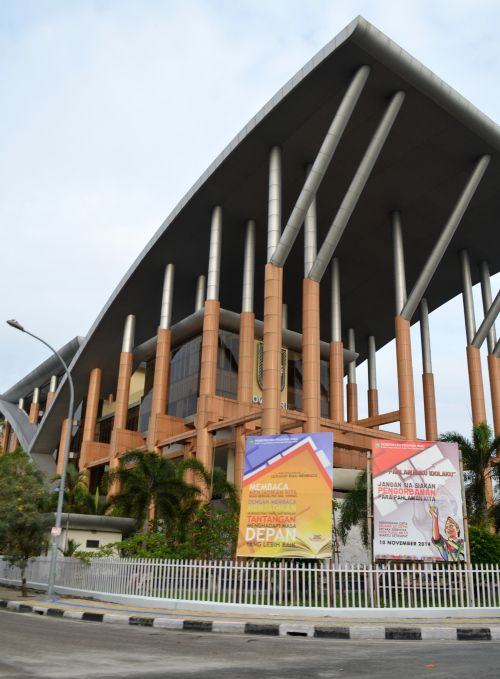 Soeman HS Library in Pekanbaru, Riau, won the 2015 ASEAN Architecture Award, eliminating 19 other building designs from eight Southeast Asian countries.
