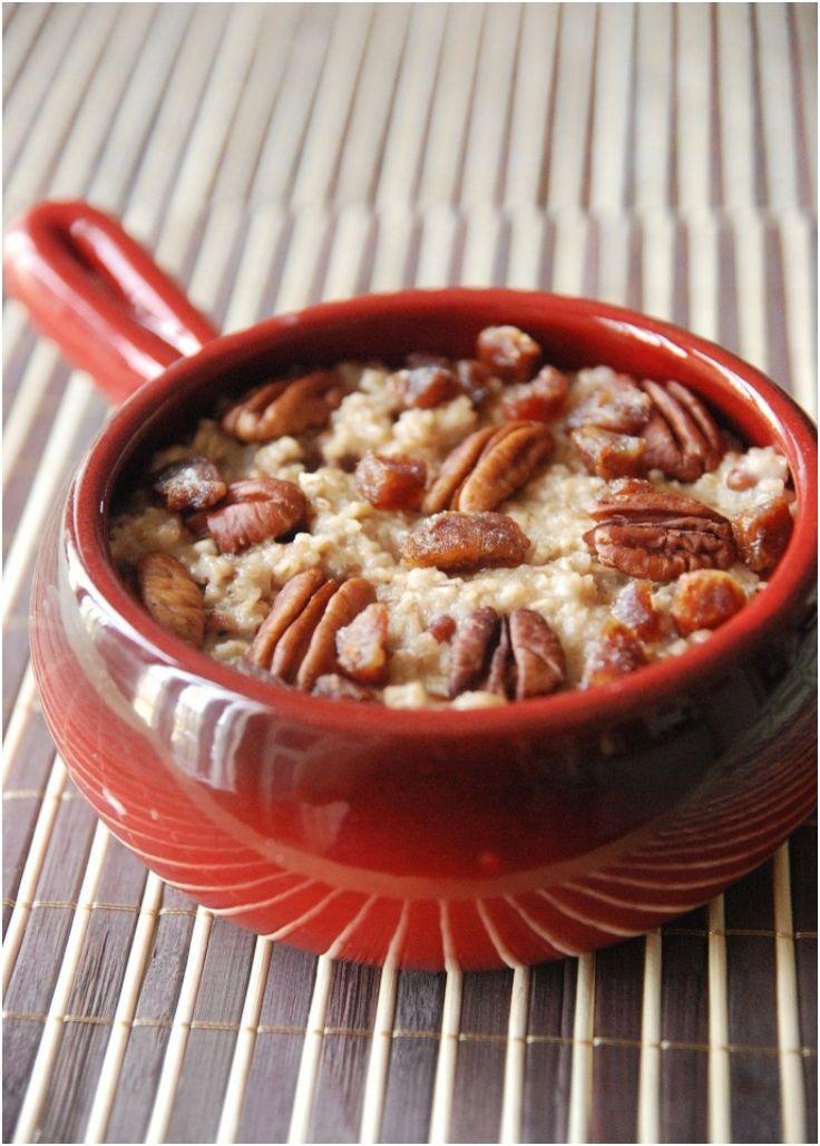 Overnight Apple Pie Steel Cut Oats Recipes — Dishmaps