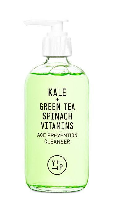 Nutrient-rich gel cleanser helps balance your skin, and removes daily dirt and toxins to keep your pores so fresh and so clean. Packed with antioxidant-rich kale, spinach and green tea to give you that fountain-of-youth glow, it also protects you from free radicals and environmental stresses.