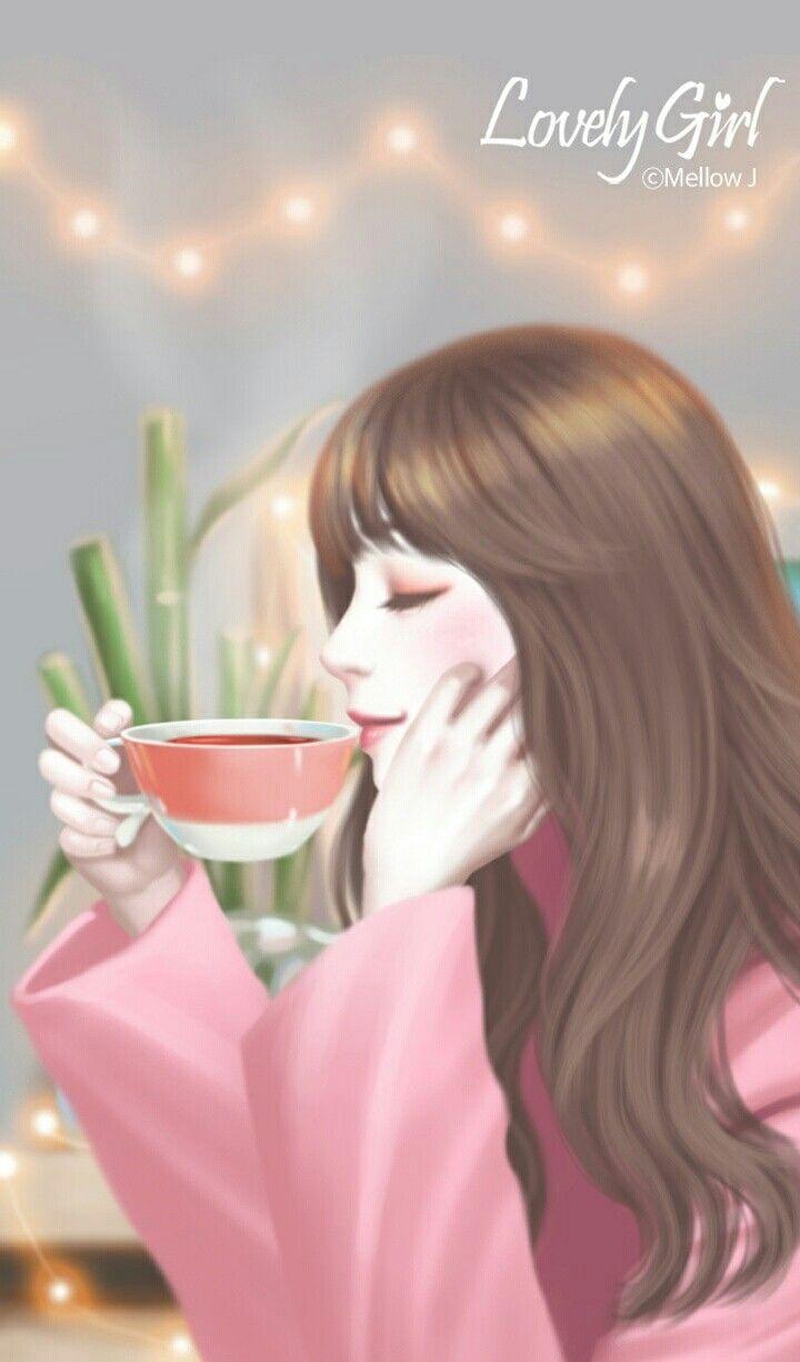 Enakei Anime Gadis Cantik Gadis Animasi Seni Digital