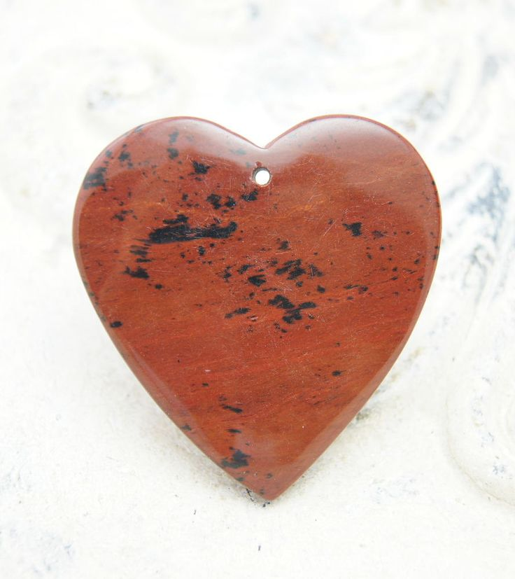 Craft Supplies & Tools  pendant necklace  raw gemstones  Gemstone Pendant  stone pendant  focal bead heart shaped pendant  heart shape gemstone  sodalite pendant  red obsidian  red gemstone  Heart Shaped Stone Heart Shaped Bead  Stone Heart