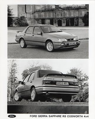 Ford Sierra Sapphire RS Cosworth 4x4 Press Photograph
