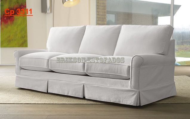 Slipcover For Pillow Back Couch
