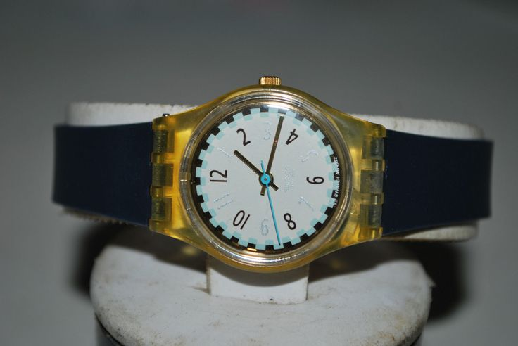 """1993 spring/summer Vintage Swatch Ladies Watch LK-140 """" GINGER ELLE """" Originals Lady ~ Free Shipping & Free Battery in Jewelry & Watches, Watches, Parts & Accessories, Wristwatches 