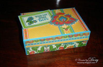 L'Angolo Creativo di Dory: Mini Album in scatola