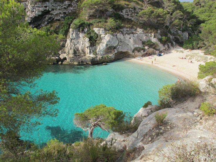 Les meilleures plages d'Espagne, à Minorque ~ Las mejores playas de España, en Menorca | Les Mots de Marguerite