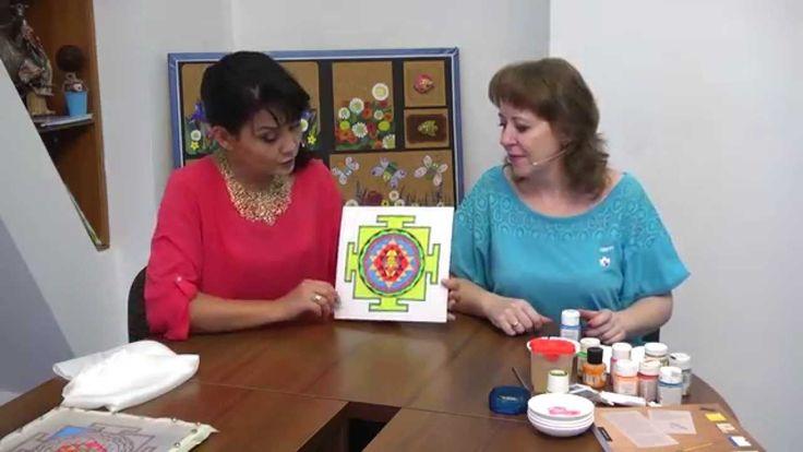 Как сделать символ Шри-янтра своими руками Антонина ПЛЕСКАЧ