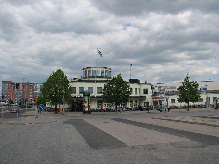 Bus Station, Aninkaistenkatu, Turku