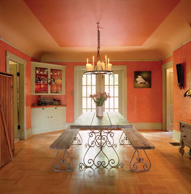 17 Best Images About Dining Room Colors On Pinterest: 17 Best Images About Peach Rooms I Adore