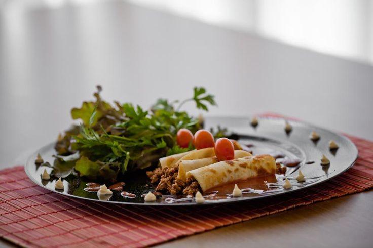 Aprenda a preparar a receita de Panqueca de carne moída