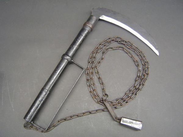 KUSARIGAMA | Armas: Espadas, hachas, lanzas... - Página 2 • Foro de One Piece ...
