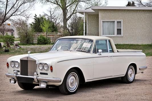 1967 Rolls Royce Silver Shadow Pick-Up.