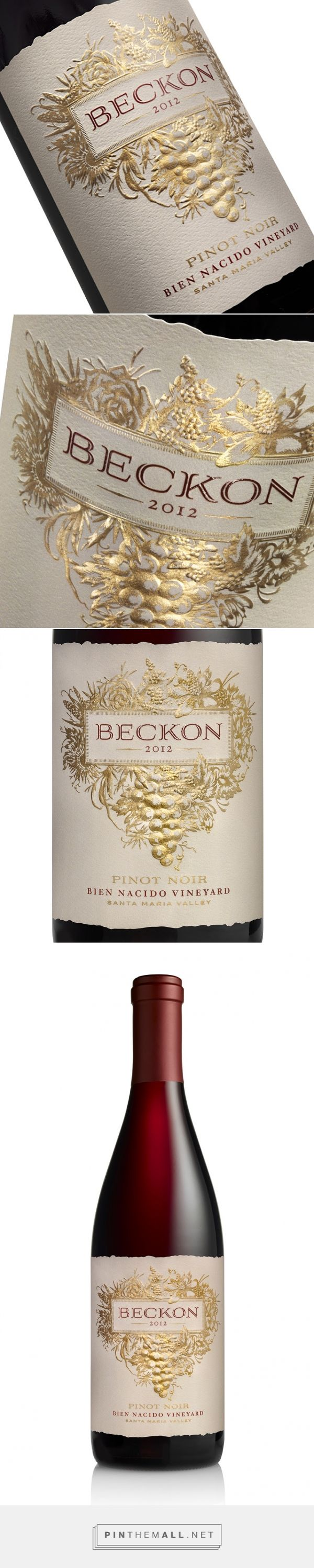 Beckon Wines - Packaging of the World - Creative Package Design Gallery - http://www.packagingoftheworld.com/2016/01/beckon-wines.html