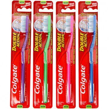 COLGATE Brosse à dents DoubleAction 18cm €0.98