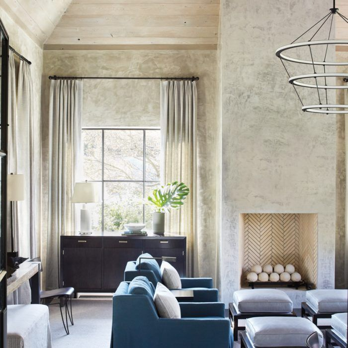 A Polished European Inspired Home Shines In Atlanta Interior