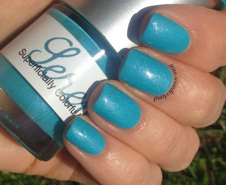 Jen's Wonderland: Superficially Colorful: Serene (thermal polish)