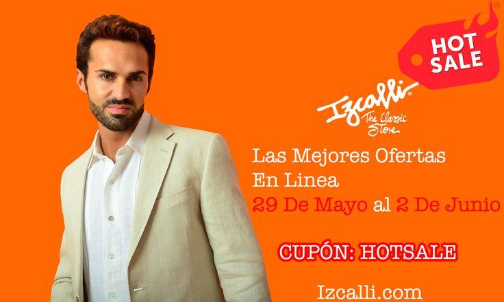 En Izcalli Stores Seguimos Celebrando Con Los Mejores Descuentos En Linea Del Año!!! Visítenos En Izcalli.com e introduzca el código HOTSALE y Obtenga Un Descuento Especial, Le Esperamos!  http://www.Izcalli.com  #Izcalli #HOTSALE #Moda #Estilo #Outfit #Ofertas #Elegancia #Lino #Cuernavaca #Cancun #Cultura #Guayabera #Pantalon #Sombrero #Zapatos #Vestido #Huipil #Rebozo #Joyeria #Bodas #Bordadoamano #Descuentos #HechoEnMexico
